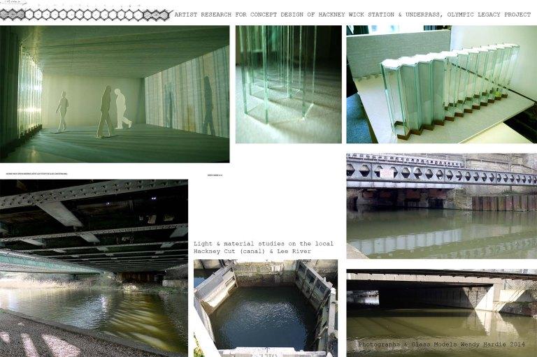 Wendy Hardie -Hackney Wick Station Artist's Concept Design 2014 e