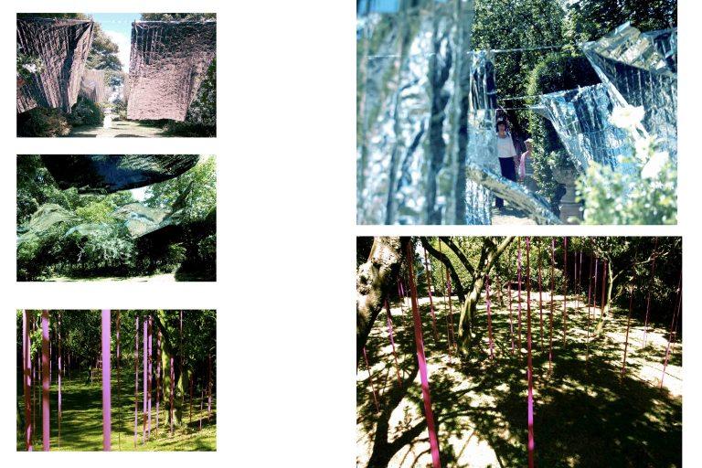 Wendy Hardie Installation Diptych 2006