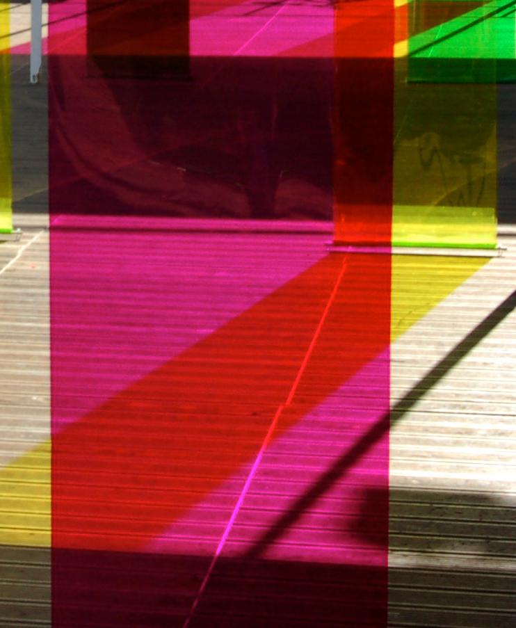 'Spectrum Shift' Installation by artist Wendy Hardie, London 2006