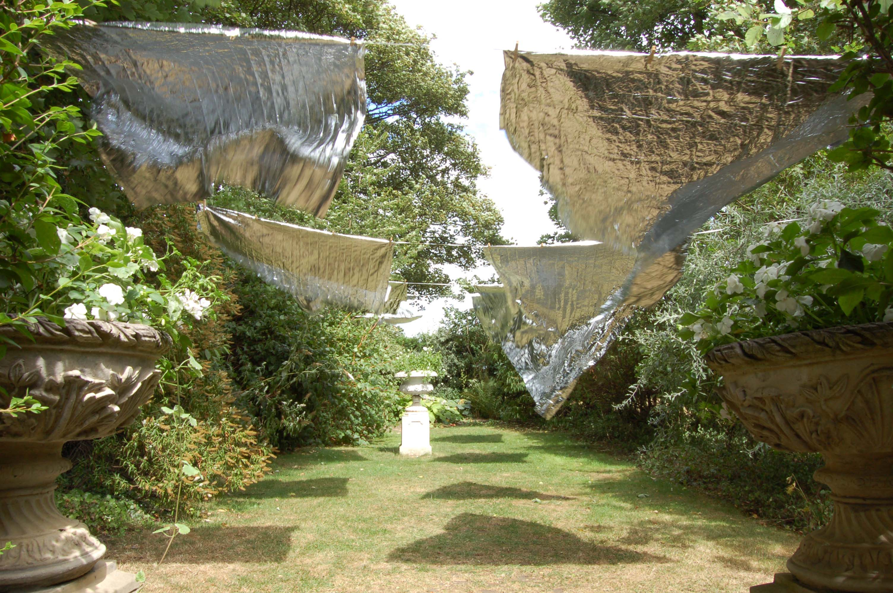 'Laundry Day' 2006, site specific installation by Wendy Hardie